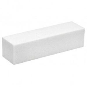 Buffer / Nagelfeilenblock 4-seitig weiß