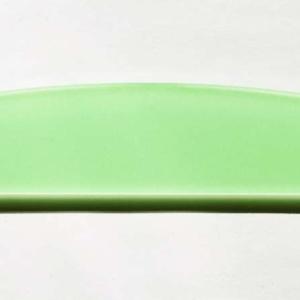Acryl - Wechselfeilenboard kiwi 3mm Halbmond