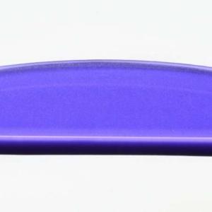 Acryl - Wechselfeilenboard violett 3mm Halbmond