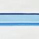 Acryl - Wechselfeilenboard blau fluoreszierend 3mm gerade