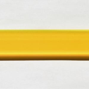 Acryl - Wechselfeilenboard gelb matt fluoreszierend 3mm gerade