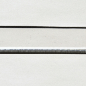 Acryl - Wechselfeilenboard klar 2mm gerade