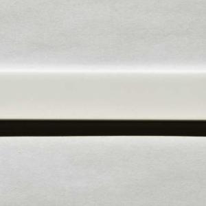 Acryl - Wechselfeilenboard weiß matt 3mm gerade