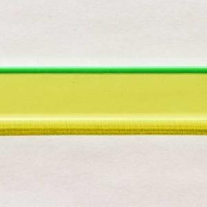 Acryl - Wechselfeilenboard grün fluoreszierend (neon) 3mm gerade