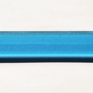 Acryl - Wechselfeilenboard türkis 3mm gerade